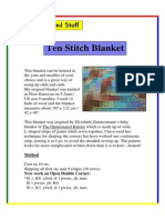 Ten Stitch Blanket