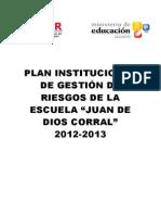 planinstitucionaldegestinderiesgosparacentroseducativos-130502121451-phpapp02