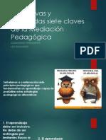 Las Nuevas y Mejoradas Siete Claves de La Mediacion Pedagogica