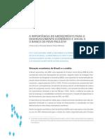 LEITE, Carlos. MONTORO, Fernando a. F. a Importância Do Microcrédito Para o Desenvolvimentos Econômico e Social e o Banco Do Povo Paulista