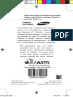 Manual Do Celular GT E2530