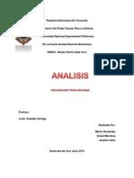 Analisis Sobre Articulos de La Constitucion, Regimen Municipal y Consejos Comunales