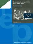 TANAKA, Martín - Democracia Sin Partidos. Perú, 2000 2005 - 2005