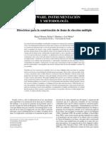 Directrices Para La Construcci n de Tems de Elecci n m Ltiple Moreno Martinez y Mu Iz 2004