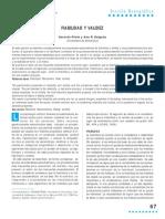 Fiabilidad y Validez Prieto y Delgado 2010