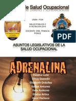 Equipodetrabajoadrenalina Legislacionsaludocupacional 100801113446 Phpapp02