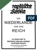 Die Niederlände und das Reich