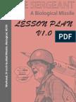 The Sergeant Lesson Plan