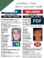 2009 Journal Star All-Area Soccer