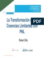 La Trans for Mac Ion de Las Creencias Limit Antes Con Pnl Robert Dilts