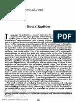 99 Socialization