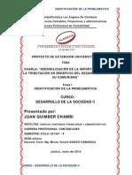 Dares_desarrollo de La Sociedad Ii_contabilidad_juan Quimber Chambi_identificación de La Problemática