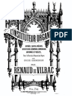 Vilbac - L'Instituteur Organiste