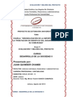 Dares_desarrollo de La Sociedad Ii_contabilidad_juan Quimber Chambi_evaluación y Mejora Del Proyecto