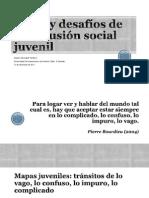 Retos y Desafíos de La Inclusión Social Juvenil