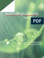 Educacion Ambiental Para La Sostenibilidad ESTADO de MEXICO
