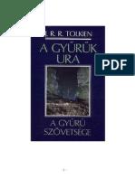 Tolkien a Gyuru Szovetsege