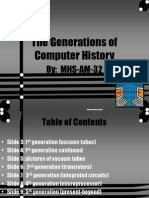 The Generations of Computer History