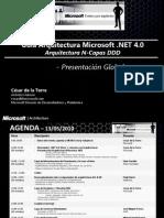 01 Guia Arquitectura N Layer DDD Microsoft NET 4 0 Vision Global 1h 18-05-13
