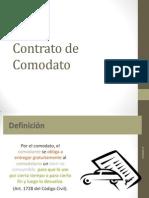 9- Contrato de Comodato