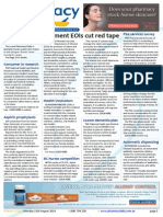 Pharmacy Daily for Mon 11 Aug 2014 - Payment EOIs cut red tape, Darwin pharmacy wins, PSA services survey, Letter to the Editor and much more