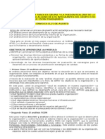 Tarea Del Tercer Matriz FODA 2014-2