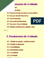Cap.5 - Fundamentos de Avaliação