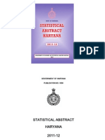 Statistical Abstract Haryana(2011-2012)