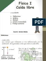 Física I Corte I Caída Libre-2014II