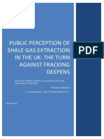 131787519 Public Perceptions of Shale Gas in the UK May 2014 PDF