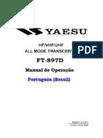 Manual de Operação Do Yaesu Ft-897d - Hf-Vhf-uhf - Revisão III - 06-2007