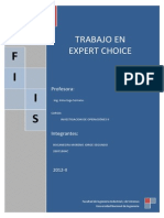 Aplicacion Expert Choice
