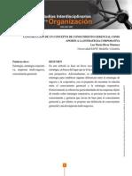 4.1 Construccion de Un Concepto de Conocimiento Gerencial Como Aporte a La Estrategia Corporativa
