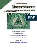 Los Dioses del Dinero ...y Su Proyecto de un Nuevo Orden Mundial