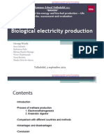 Biological Electricity Production
