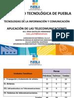Aplicación de Las Telecomunicaciones