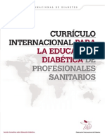 Diabetes Protocolo y Curriculum