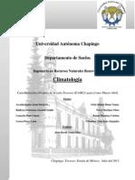 Caracterización Carta Texcoco (E14B21) Marzo-Abril