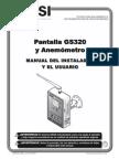 BTS LSI GM320 Manual Espanol