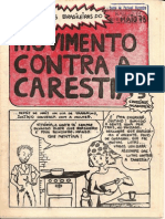 Fascículo Da História Da Luta Contra Carestia - Maio 79