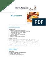 Culinária - Livro de Receitas - Microondas -OK