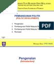 WEEK 8 Pembangunan Politik