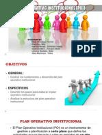Plan Operativo Institucional Expo1