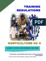 TR - Horticulture NCII