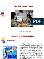Obligacion Tributaria -Unidad 4
