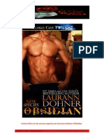Laurann Dohner- Serie Nuevas Especies- 8 - Obsidian