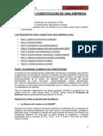 Formacion de Empresas y Licencia de Construccion