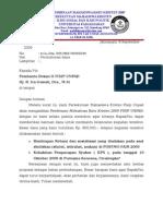 Surat Permohonan Dana Kps 2009