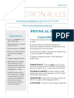 rules and procedures - physical science pdf