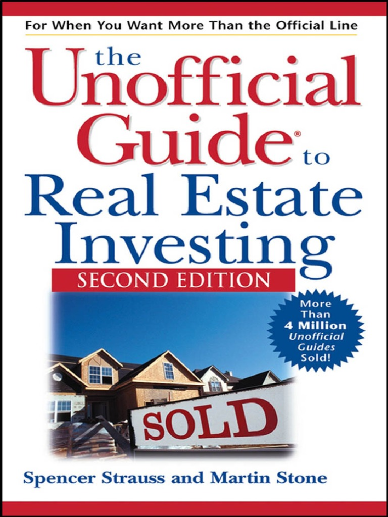 The Unofficial Guide to Real Estate Investing | Loans | Mortgage Loan